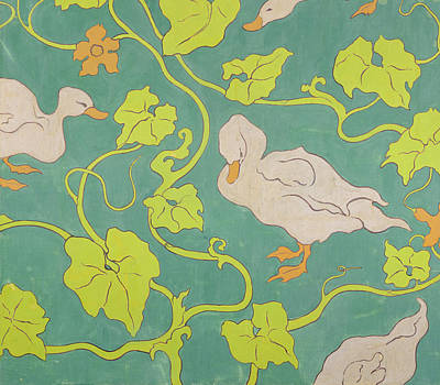 The Ducks Poster by Paul Ranson