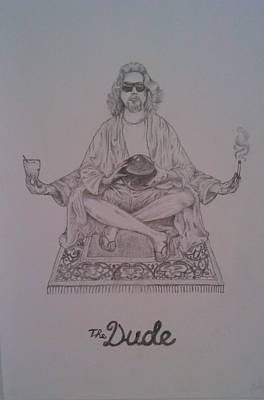 The Dude Poster by Faadil Mustun