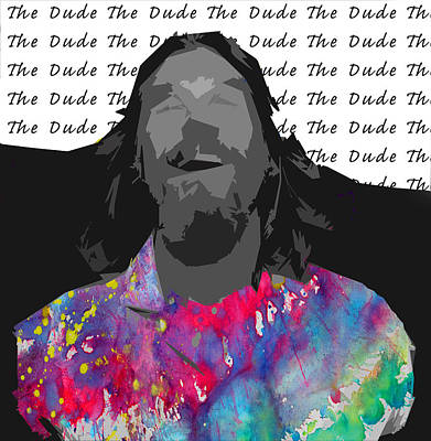 The Dude  Poster by Empty Wall