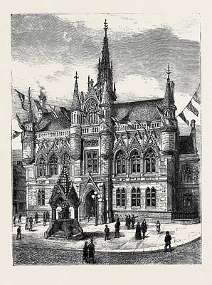The Duke Of Edinburgh In Scotland The New Municipal Poster by Scottish School