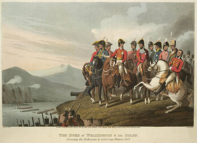 The Duke Of Wellington Poster by British Library