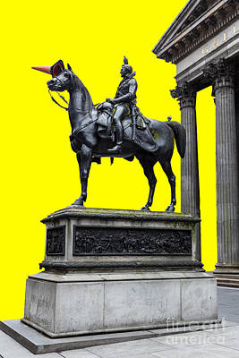 The Duke Of Wellington Yellow Poster