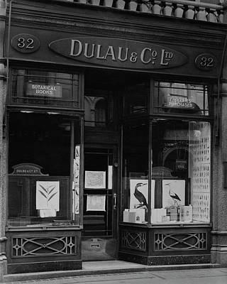 The Dulau & Co. Book Store Poster by E. J. Mason