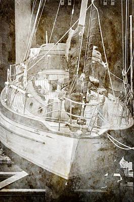 Poster featuring the digital art The Dutchman by Davina Washington