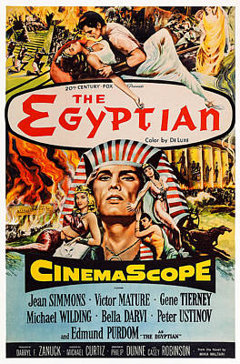 The Egyptian, Us Poster Art, 1954, Tm Poster by Everett