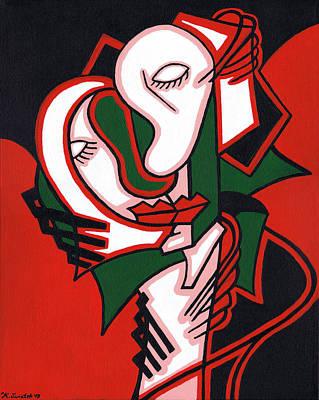 The Embrace Poster by Kamil Swiatek