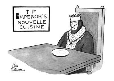 The Emperor's Nouvelle Cuisine Poster