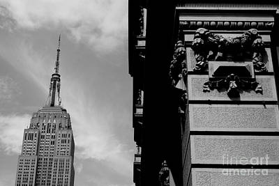 Poster featuring the photograph The Empire State Building by Steven Macanka
