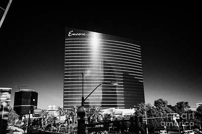 the encore resort and casino Las Vegas Nevada USA Poster