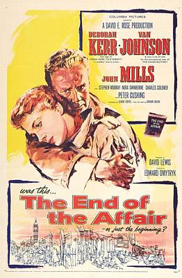 The End Of The Affair, Us Poster Poster by Everett