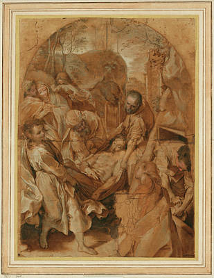 The Entombment Federico Barocci, Italian Poster by Litz Collection