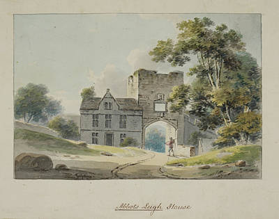 The Entrance Gateway To Abbots Leigh Hous Poster by British Library