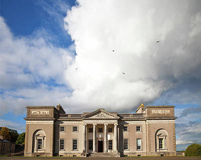 The Entrance To Emo Court Designed Poster by Panoramic Images