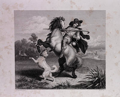The Envious Horse Poster by English School