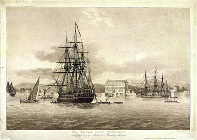 The Essex East Indiaman Poster by British Library