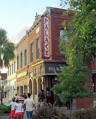 The Exterior Of The Palace Saloon Poster