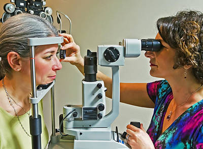 Poster featuring the photograph The Eye Doctor by Keith Armstrong
