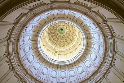 The Eye Of Texas Poster by John Babis