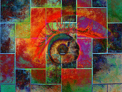 The Eye Poster by Ron Harpham
