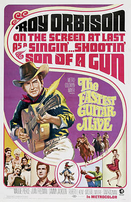 The Fastest Guitar Alive, Us Poster Poster by Everett