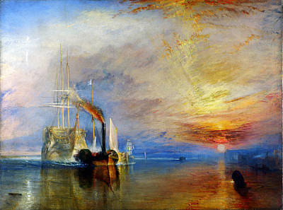 The Fighting Temeraire Tugged To Her Last Berth To Be Broken Up Poster