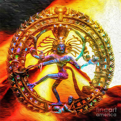 The Fire Of Shiva Poster