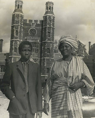 The First African Arrives At Eton. Poster by Retro Images Archive