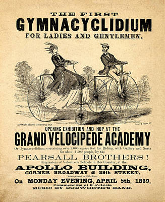 The First Gymnacyclidium Poster by Bill Cannon