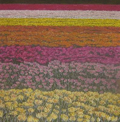 The Flower Field Poster