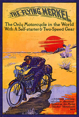 The Flying Merkel 1913 Poster