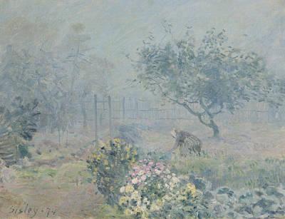 The Fog, Voisins, 1874 Poster