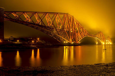 The Forth Bridge From North Queensferry Poster