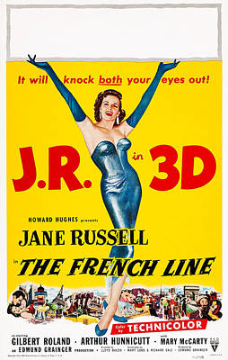 The French Line, Us Poster, Jane Poster by Everett