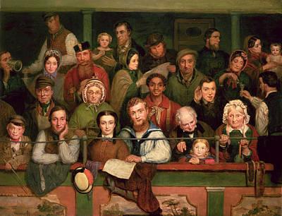 The Gallery, Drury Lane Poster by John Watkins Chapman