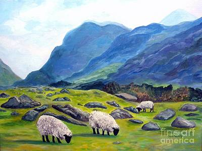 The Gap Of Dunloe Kilarney Ireland Poster