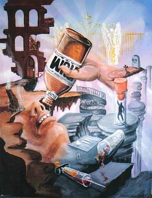 The Gap Poster by Ricardo Colon