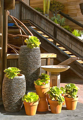 The Garden Gallery Morro Bay California Poster