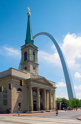 The Gateway Arch Saint Louis Poster by Unknow Artist