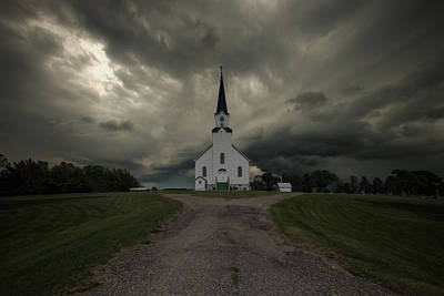 The Gathering Storm Poster by Aaron J Groen