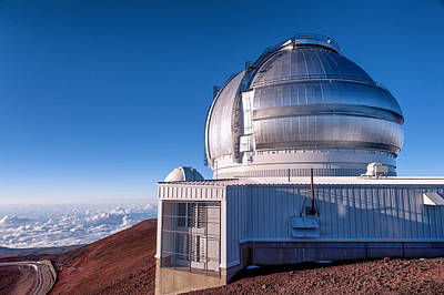 Poster featuring the photograph The Gemini Observatory by Jim Thompson