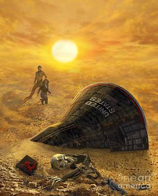 The Genesis Conspiracy Poster by Stu Shepherd