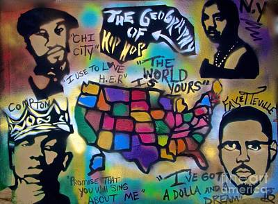 The Geography Of Hip Hop Poster
