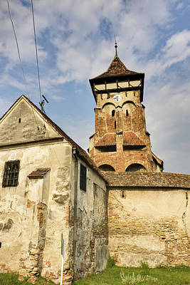 The German Fortified Church Of Valea Poster by Martin Zwick