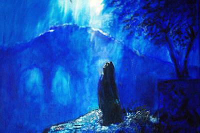 The Gethsemane Prayer Poster