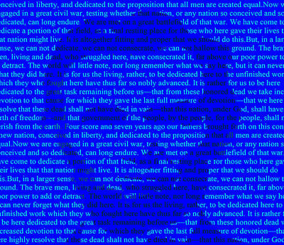 The Gettysburg Address Poster by Brian Reaves