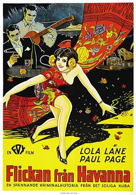 The Girl From Havana, Aka Flickan Fran Poster