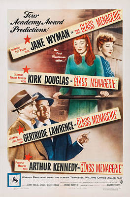 The Glass Menagerie, Us Poster Art Poster by Everett