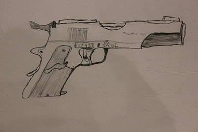 The Glock Bond Poster by Dylan Kerler