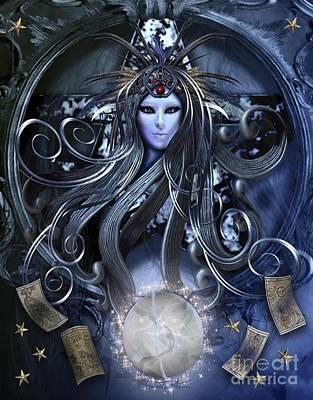 The Goddess Of Magic Poster by Betta Artusi