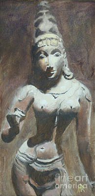 The Goddess Parvati Poster by Ann Radley